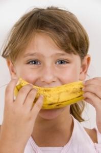 %22Little Girl Eating Banana%22 by imagerymajestic
