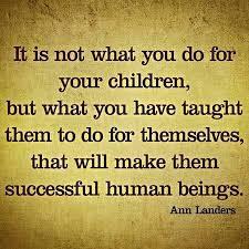 quote teaching kids